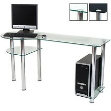 STILISTA Designer Computer Table Desk PC Office table glass new