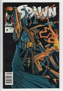 Spawn #7 Image Comics 1992 McFarlane HUGE HIGH GRADE RUN UP SCANS             C1