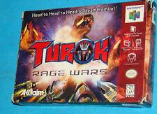 Turok Rage Wars - Nintendo 64 N64 - USA