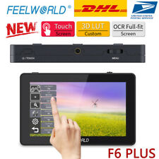 "New FEELWORLD F6 PLUS Monitor 5.5"" Inch 3D LUT 4K HDMI Video On Camera For DSLR"