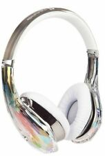 Headphone Monster Diamond Tears Edge Over-ear - White