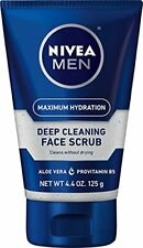Nivea for Men Energizing Face Scrub 4.4 oz (125 g) Each