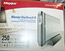 Maxtor One Touch II 250GB External USB Hard Drive