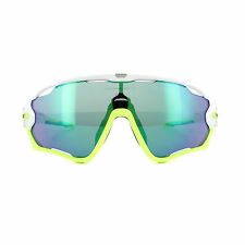 2fb08232b5 Oakley Jawbreaker 9290 UK Sunglasses Plutonite Lens 100 UV Unisex 03  Polished White   Jade Iridium