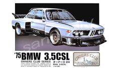 Arii 1/24 1975'  BMW 3.5CSL model kit  (Owners Club)
