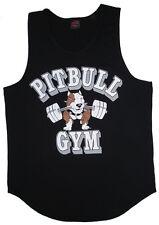 P321 Pitbull Gym Tank Top Barbell logo Men's Athletic Tanktop