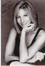 Barbara Streisand ++Autogramm+Hollywood Superstar+