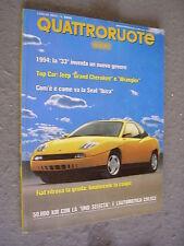 QUATTRORUOTE # 453 - LUGLIO 1993 - FIAT COUPÈ E SEAT IBIZA - QUASI OTTIMO