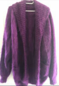 Hand knitted Mohair cardigan