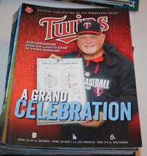 Minnesota Twins Program Magazine   April May 2014   Ron Gardenhire