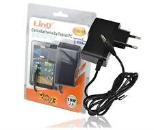 Alimentatore da Rete Casa per Tablet 5V 2A 10W Attacco 3.5x1.35 mm Linq T-35135