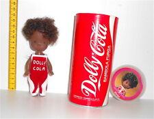 COCA COLA - DOLLY COLA 70s Furga italy pocket doll in can box - bambola lattina