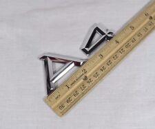 AUDI A4 EMBLEM 96-01 BACK TRUNK GENUINE OEM CHROME BADGE sign logo symbol name