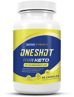 One Shot Keto Diet Pill, Advanced Weight Loss Metabolic Support 60 Pills