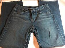 Calvin Klein Jeans Streaky Stretch Flare Leg Size 6 CK