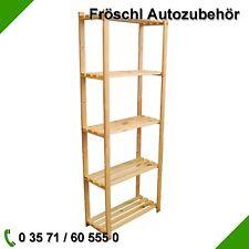 Holzregal Lagerregal Büroregal Holz Regal Archivregal Ordnerregal Kellerregal
