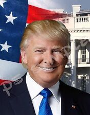 President DONALD TRUMP - Flexible Fridge Magnet
