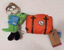 Bark Box Dog Toys Blue  Luggage Toy & Dr. Licking Stone