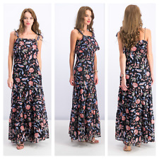 Guess Womens Maxi lace Dress Floral Size XL- NWT