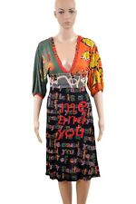 Desigual Dress XS VEST MARY Me & you Midi multicolour 55V20GR BNWT READ