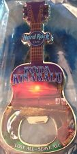 Hard Rock Cafe KOTA KINABALU 2012 Guitar MAGNET Bottle Opener City Tee T-Shirt