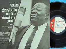 Jimmy Rushing ORIG US LP Gee baby ain't I good to you NM '67 MJR8104 Jump Blues