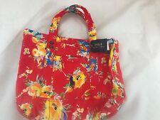 3651ff93ba BNWT POLO RALPH LAUREN Pretty Floral Canvas Tote Bag SAVE £70!