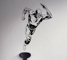 Flash Comics Wall Decal Superhero Vinyl Sticker Removable Home Art Decor 86(nse)