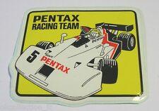 VECCHIO ADESIVO AUTO / Old Sticker F1 PENTAX RACING TEAM K.HOSHINO (cm 10x9)