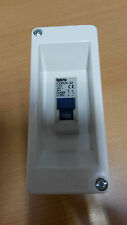 Aufputzverteiler GR15602 IP40 mit Leitungsschutzschalter 1+N-pol C16