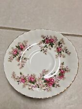"Royal Albert Bone China England 'Lavender Rose' Saucer 5"" diameter"