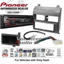 Pioneer CD Player Gray GM Truck Car Stereo Radio Install Package Harness Antenna