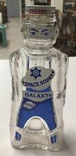 1950s Galaxy Syrup Space Ace Red Spaceman Bottle Glass Coin Bank Unpunched Lid
