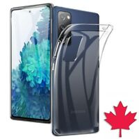 For Samsung Galaxy S20 FE - Clear Case Thin Soft TPU Transparent Cover