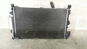 2007 SAAB 9-3 VECTOR 1.9 Z19DTH TWIN FAN COOLANT RADIATOR PACK 13123751 #2123