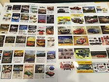 1/18 old english Car Advertising garage posters (2 Sheets) 0007/8