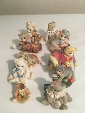 Enesco Calico Kittens Assorted Lot of 10