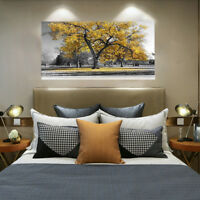 75*100 Large Tree Leaves Nature Pictures Print Canvas Wall Art Prints Unframed