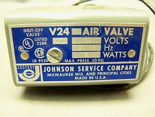 Johnson Control V24-2 479 Solenoid Air Valve Shut-off Valve