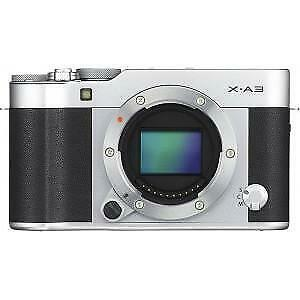 Fujifilm X-A3 Digital Camera Silver Body Only
