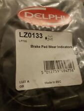 DELPHI LZ0133 PAIR OF FRONT BRAKE PAD WEAR SENSOR WARNING INDICATOR FITS AUDI