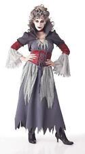 Banshee Gris Bouclé Vampire Gothique Costume PM574326