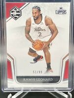 2019-20 PANINI CHRONICLES LIMITED Basketball  /99 Kawhi LEONARD LA CLIPPERS