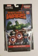 Marvel Legends Vance Astro & Captain America Action Figure 2-Pack