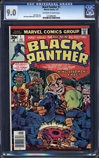 Black Panther  # 1 (1977) CGC 9.0 ow/w pages - Jack Kirby