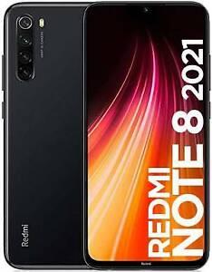 """Xiaomi Redmi Note 8 2021 4+64GB 6.3"""" Space Black DS TIM"""