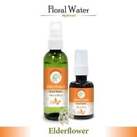 Elderflower Hydrosol (Floral Water) 60ml / 100ml Pure And Natural Free Shipping
