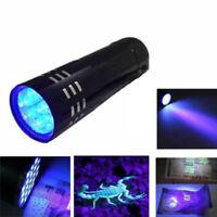 les insectes lampe de poche 395 nm inspection lampe torche uv ultraviolet