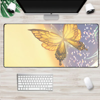 XXL Gaming Mauspads Groß Schmetterling Mausunterlage Computer PC Mousepad Nature