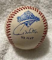 Paul Molitor SIGNED AUTOGRAPHED 1993 World Series BASEBALL MVP INSCRIPTION